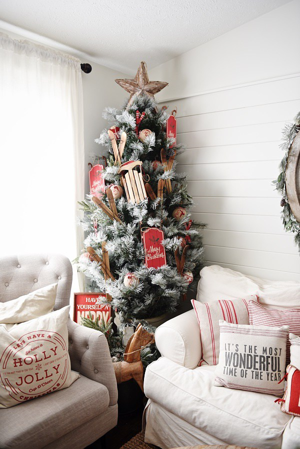 Christmas scandi home